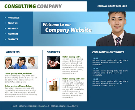 photoshop website templatesPinclout.com | Templates and Resume ...